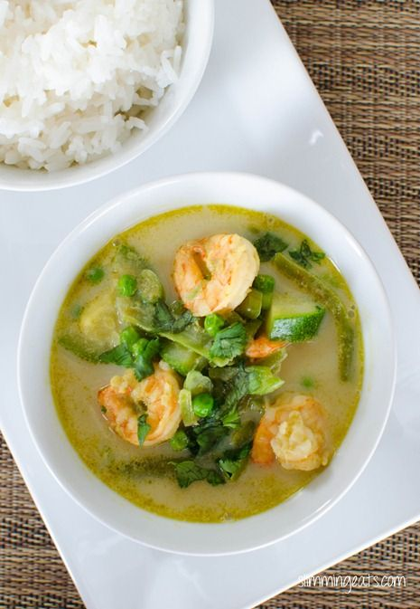 Thai Green Chicken Curry Slimming Eats Slimming World