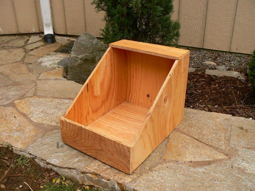 Chicken / Rabbit Nest Boxes Rabbit nest, Rabbit nesting box