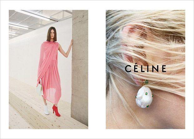 e218a72285 Celine Spring Summer 2017 Campaign by Juergen Teller https   plus.google.