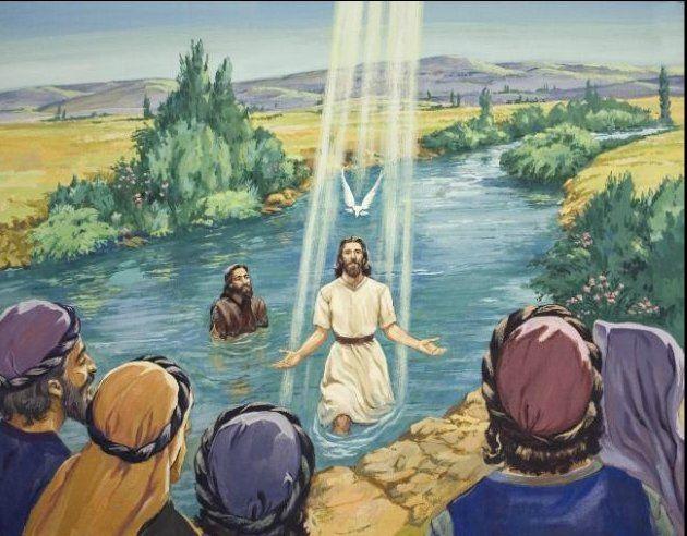 The Baptism of Jesus<BR>   Sunday school   Pinterest   Sunday school
