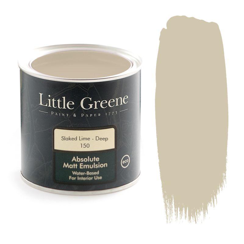 Little Greene Intelligent Matt Emulsion In Slaked Lime Deep 150 Paint Colours Pinterest