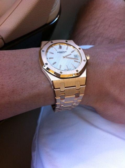 Audemars Piguet Royal Oak Jumbo in Rose Gold | Watches ...