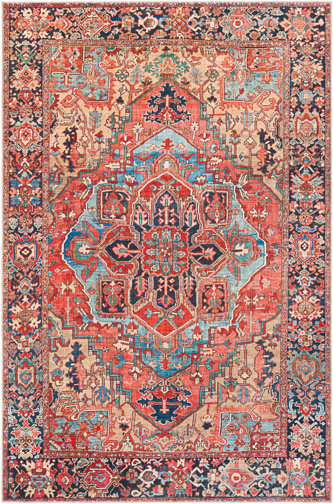 Surya Iris Irs 2310 Area Rug Area Rugs Red Rugs Traditional Rugs