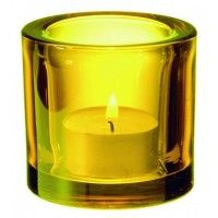 iittala kivi tealight yellow mood lighting pinterest. Black Bedroom Furniture Sets. Home Design Ideas