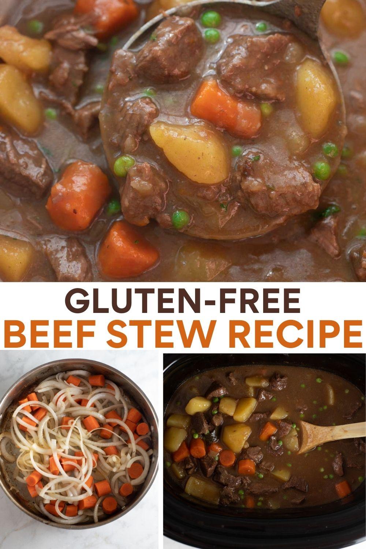 Gluten Free Beef Stew Recipe Gluten Free Beef Stew Stew Recipes Gluten Free Beef Stew Recipe