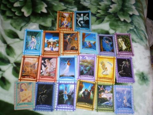 Healing with the Fairies Oracle Cards: Booklet and 44-Card Deck (Large Card Decks): Doreen Virtue: 9781561707850: Amazon.com: Books