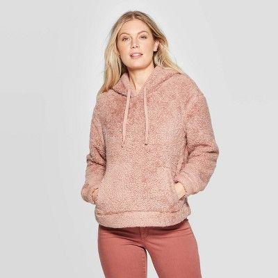 Womens Sherpa Sweatshirt