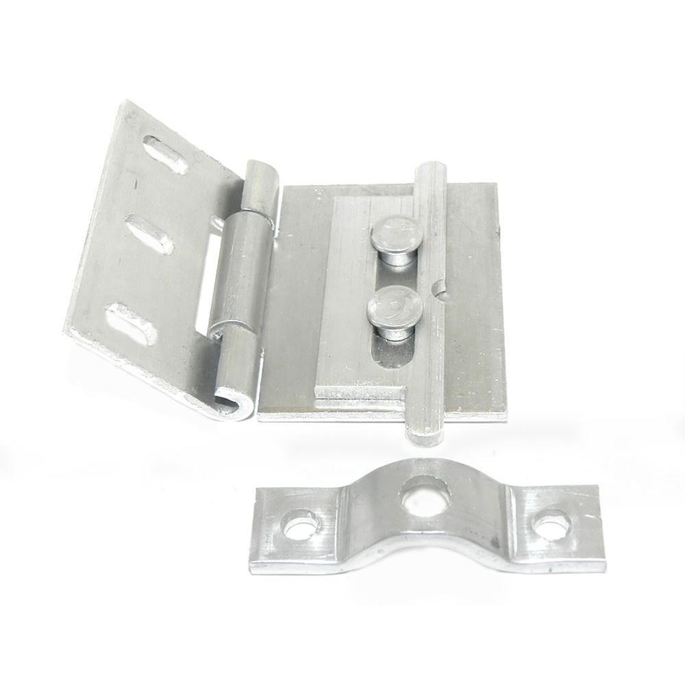 Barton kramer aluminum flip lock for sliding glass door in
