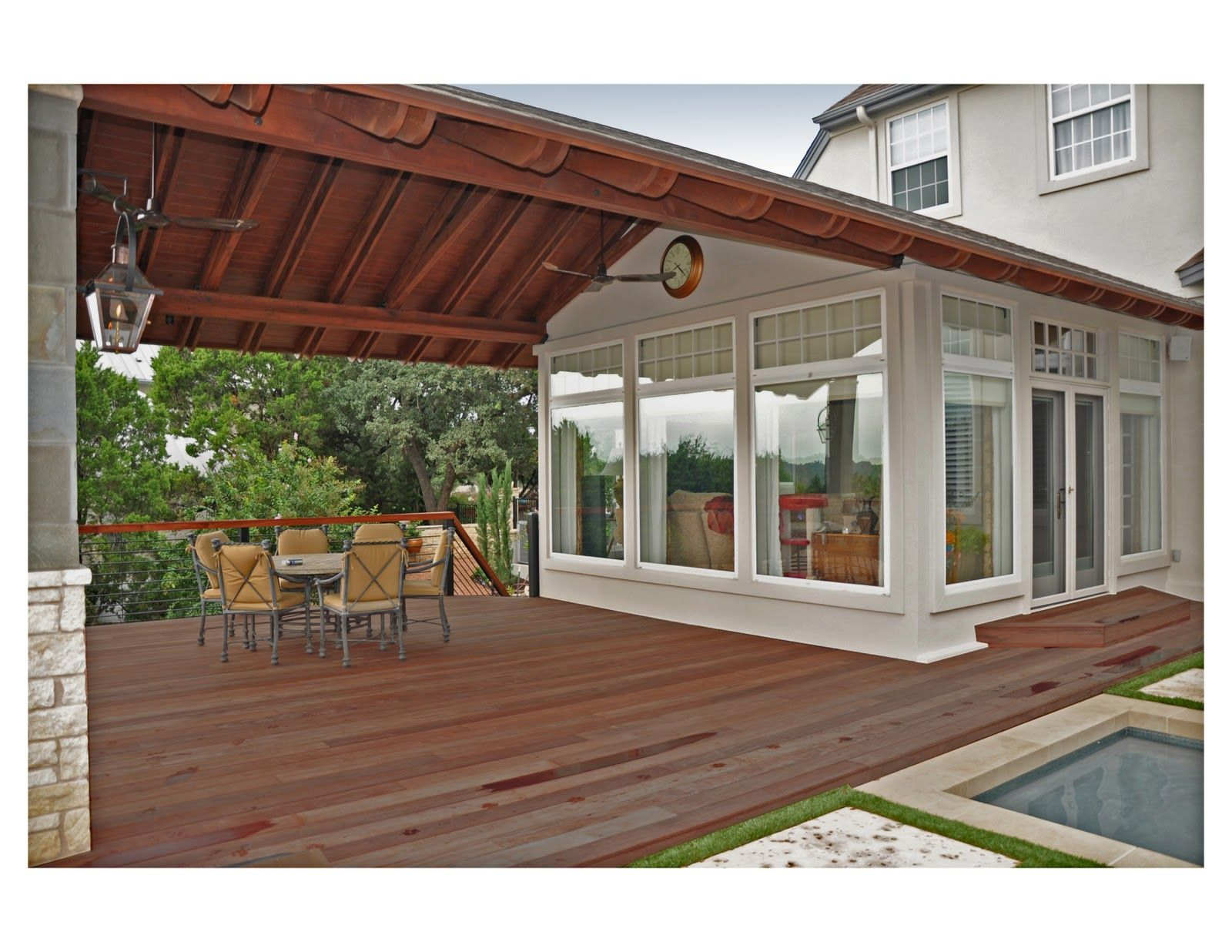 Covered patio addition for off the garage | Patios ...