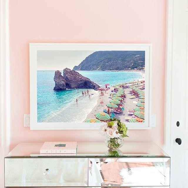 Pink Walls + Gray Malin's Monterosso Beach, Cinque Terre
