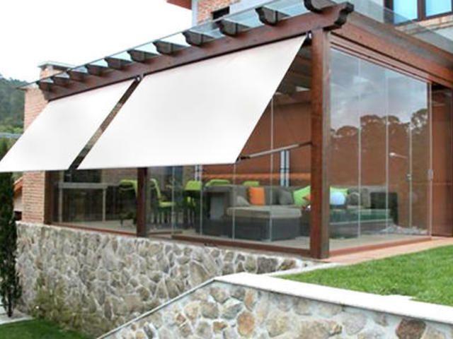 Necesitas un techo en tu patio? Adquiere un toldo o techo, son