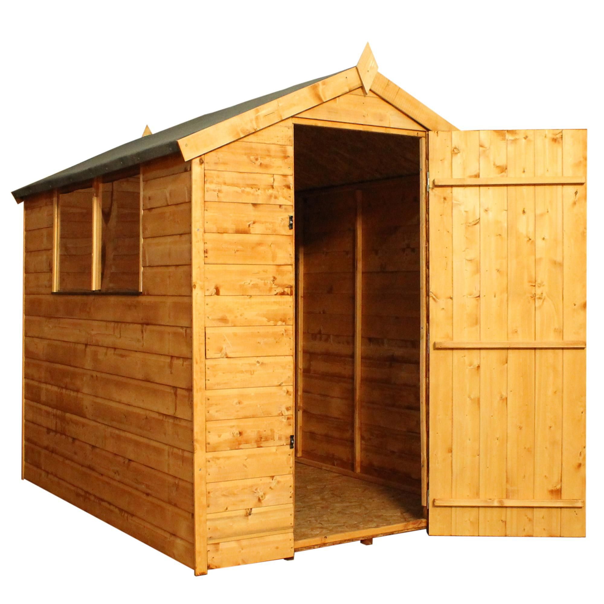 4ft X 6ft Winchester Wooden Shiplap Apex Shed Shed Apex Shed Shiplap