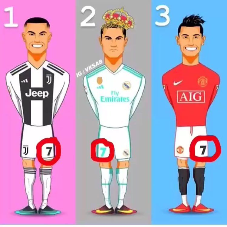 1bf9b36d425 Which Ronaldo is your favorite  Juventus Team