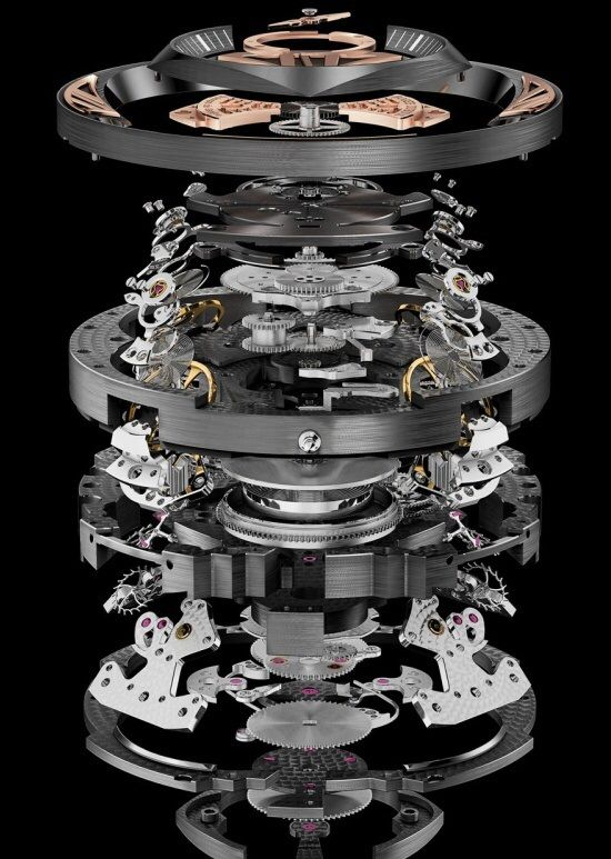 Amazing exploded view