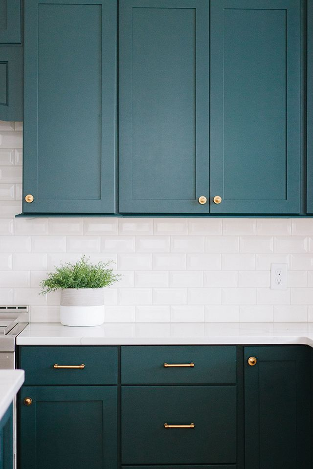client reveal emerald green kitchen in 2020 green kitchen green kitchen cabinets green on kitchen ideas emerald green id=63833