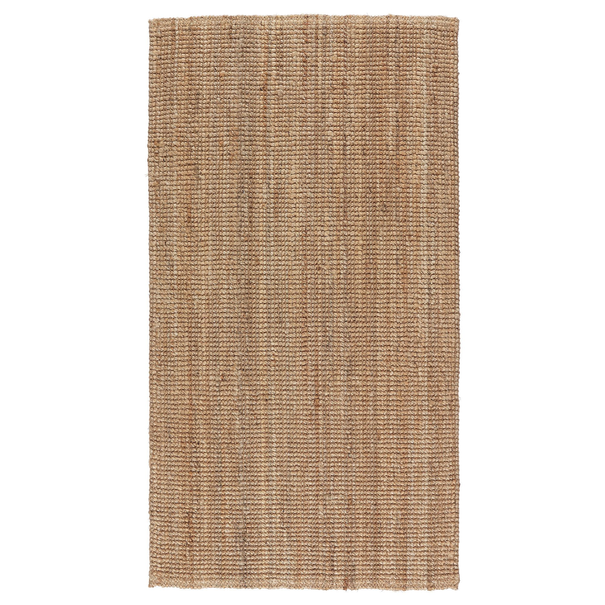 Ikea Türhaken Lohals Rug Flatwoven Natural Apartment Living Bedrooms And