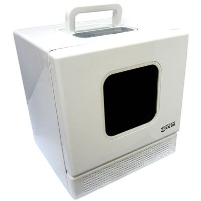 Small Iwavecube Personal Desktop Microwave Oven For Rv Or Boat