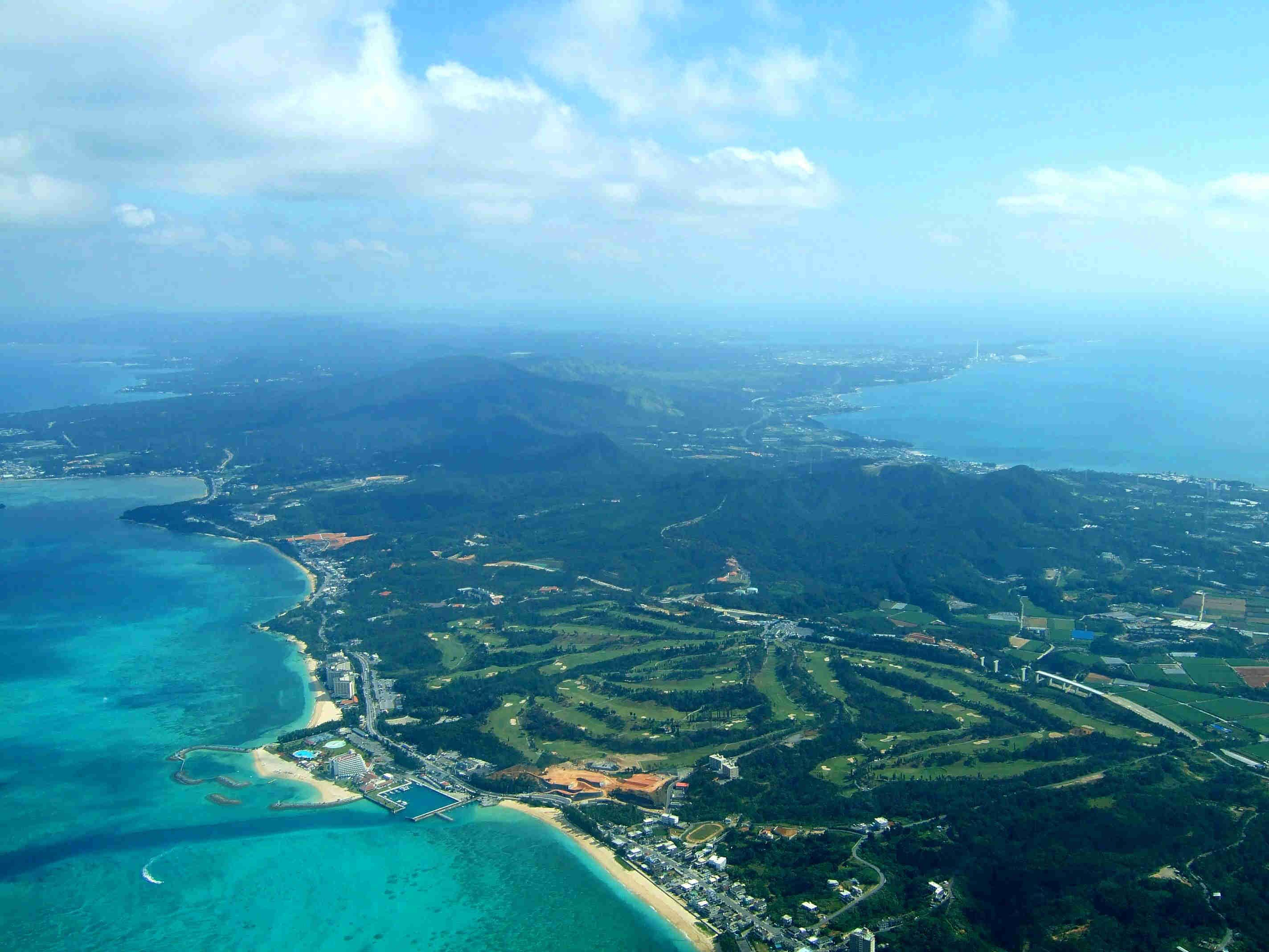 Okinawa, Japan. Was born there, but since dad was transferred home ...