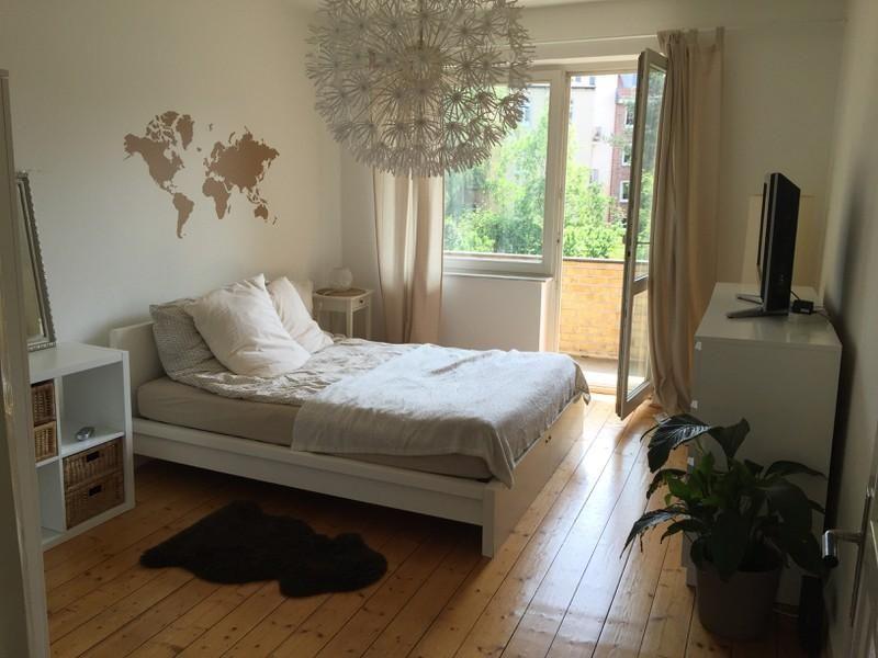 Wandgestaltung Hamburg mitten in eppendorf gemütliches schlafzimmer in hamburg mit