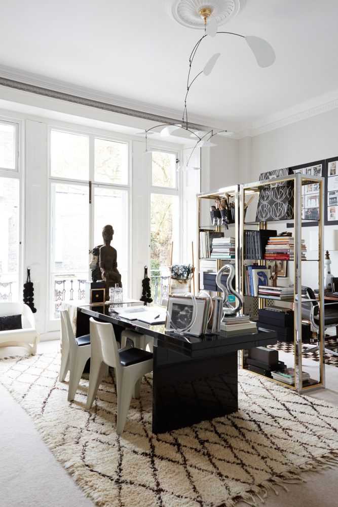 THE ECLECTIC LONDON HOME OF DESIGNER MALENE BIRGER | THE STYLE FILES ...