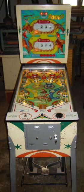1964 Rodeo Quot Midway Quot Pinball Machine Pinball Wizard