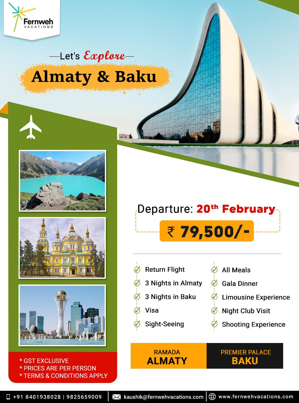 Explore Almaty Baku Travel Agency Adventure Travel Tour Packages