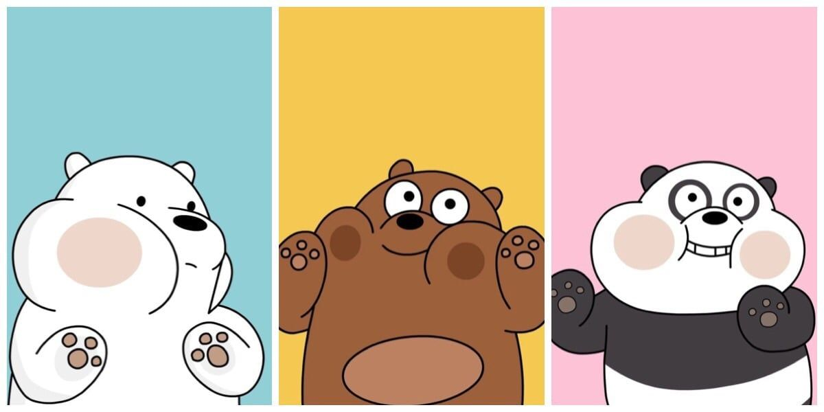 Imagen Descubierto Por Phuong Vy Vu Descubre Y Guarda Tus Propias Imagenes Y Videos En We He Bear Wallpaper We Bare Bears Wallpapers Cute Laptop Wallpaper Bare bears wallpaper hd
