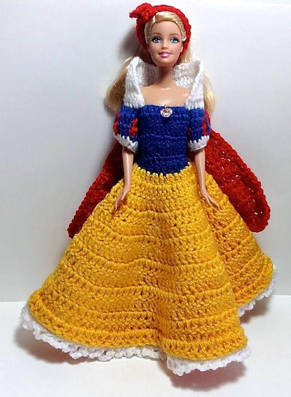 Vestitino Per Barbie Biancaneve Barbie Vestiti Per Bambole