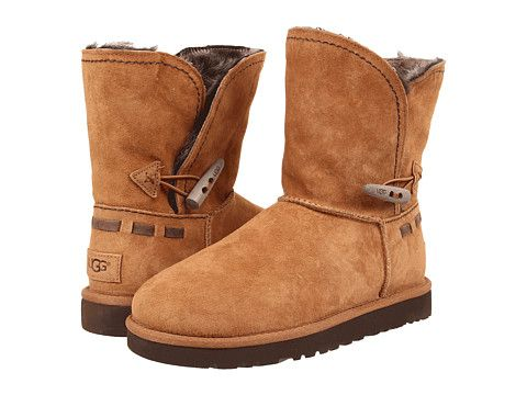 Womens Boots UGG Meadow Chestnut Suede
