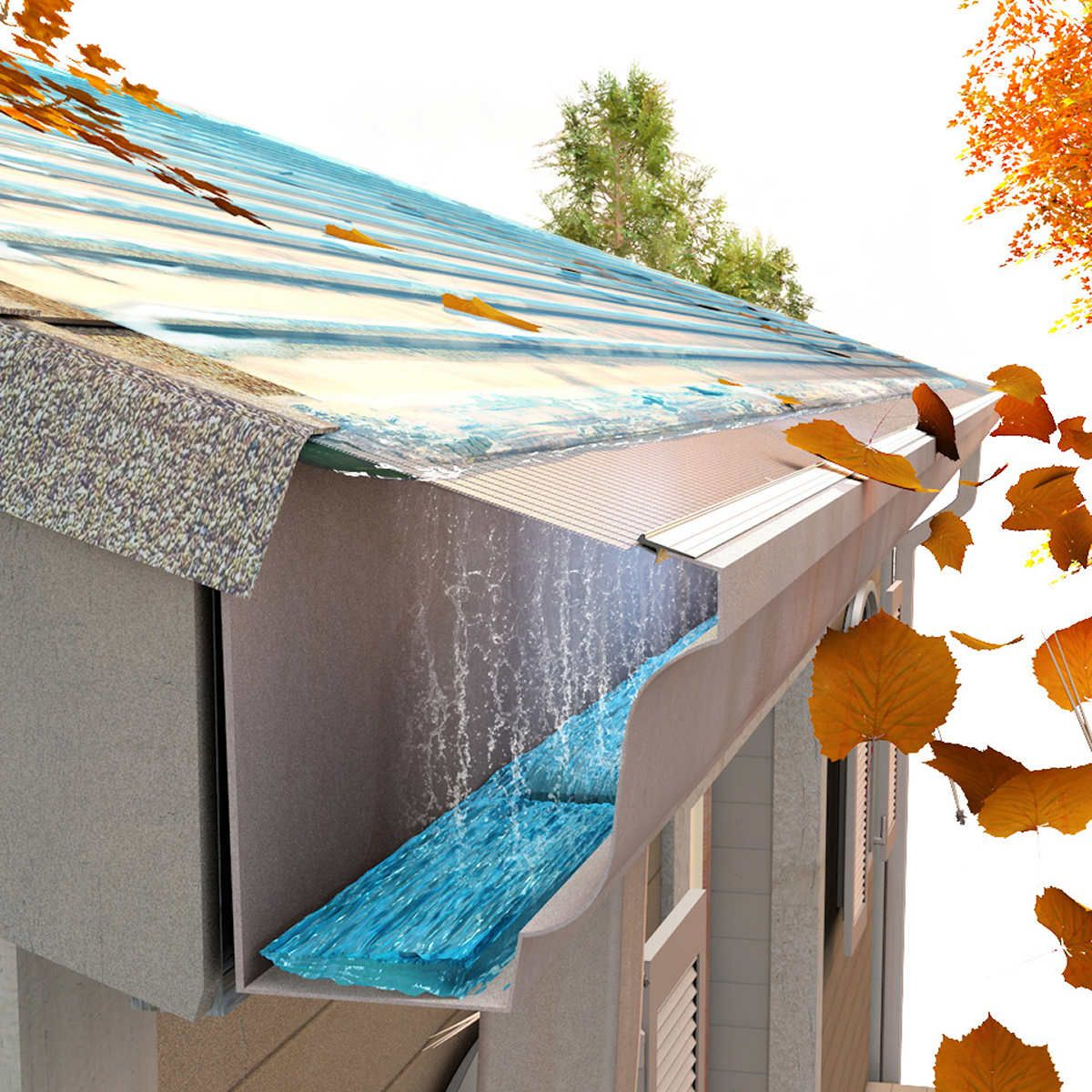 Easyon Gutterguard 5 Version 100 In 2020 House Exterior House Design Architecture