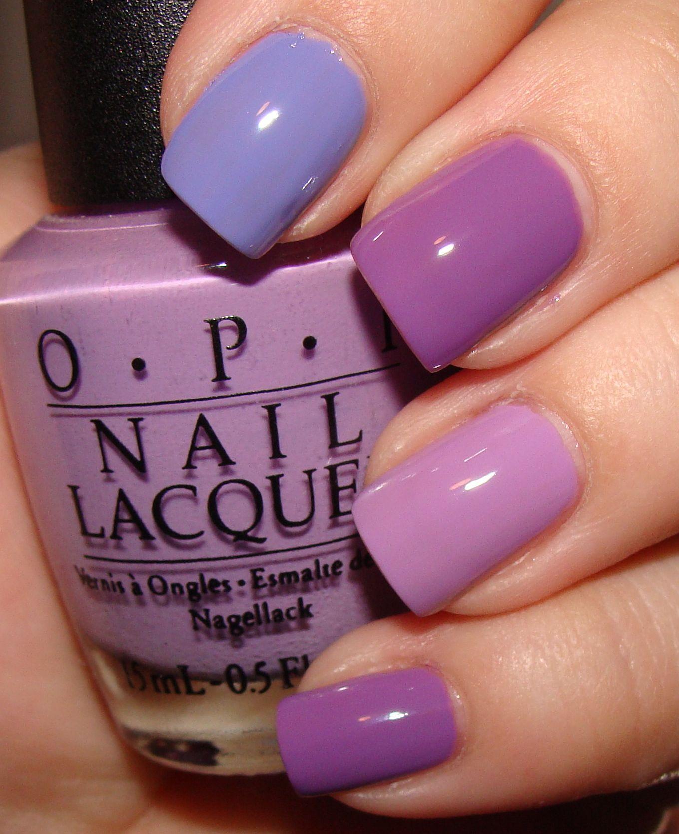purple nails | Light Purple Nail Polish Comparisons ...