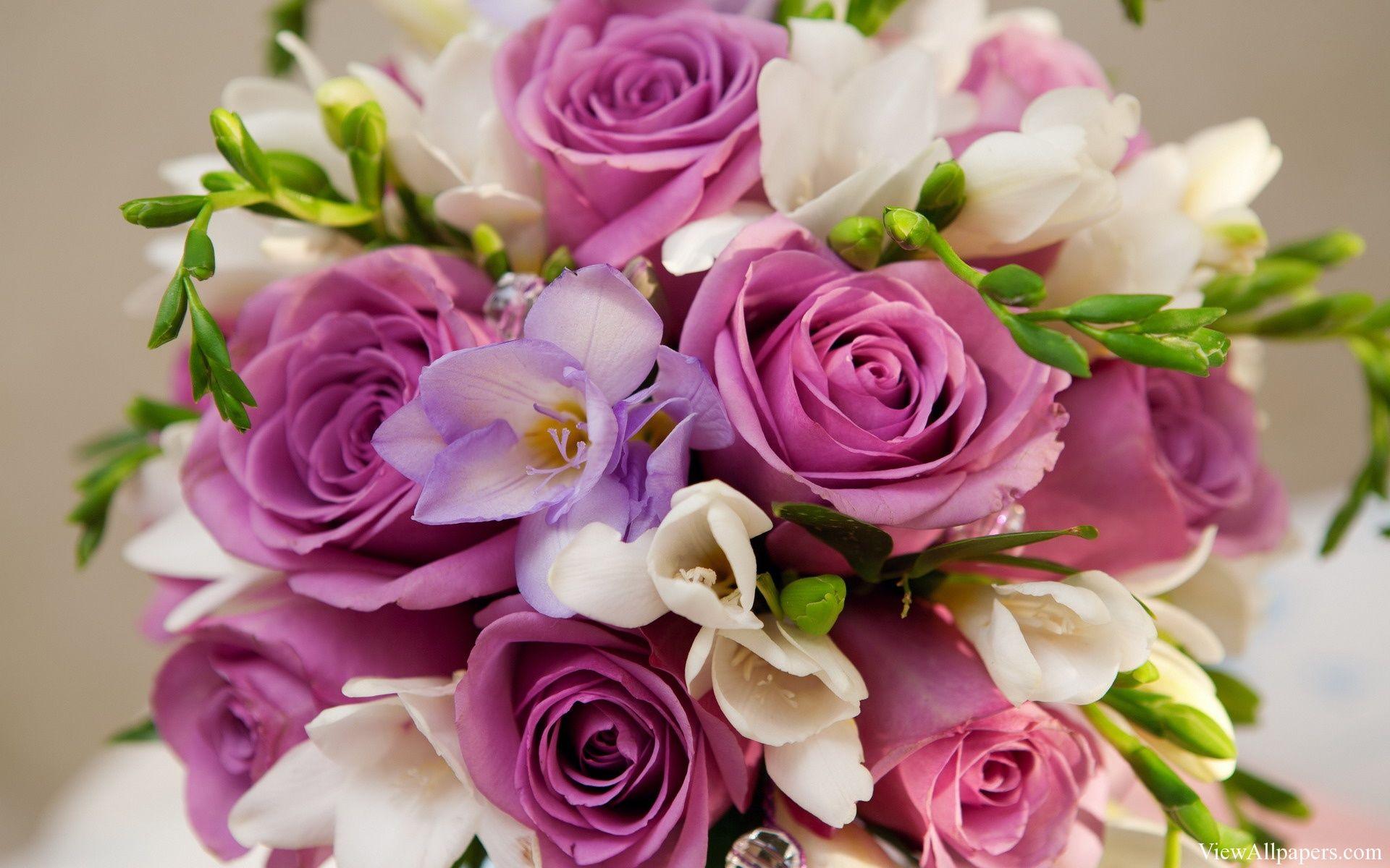 Roses Bouquet Viewallpapers Pinterest