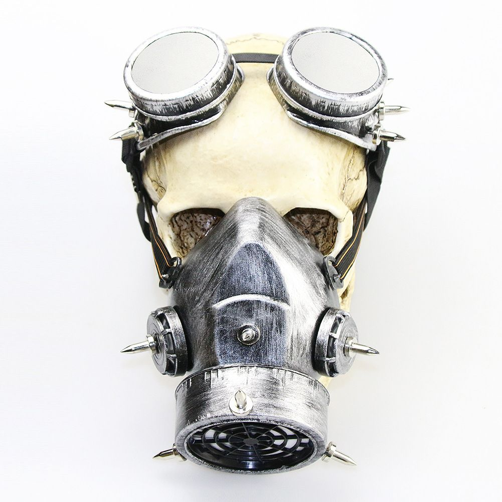 steam punk Gas mask retro windshield gas mask gift in 2020