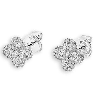 Diamond Earrings, $1,399.85