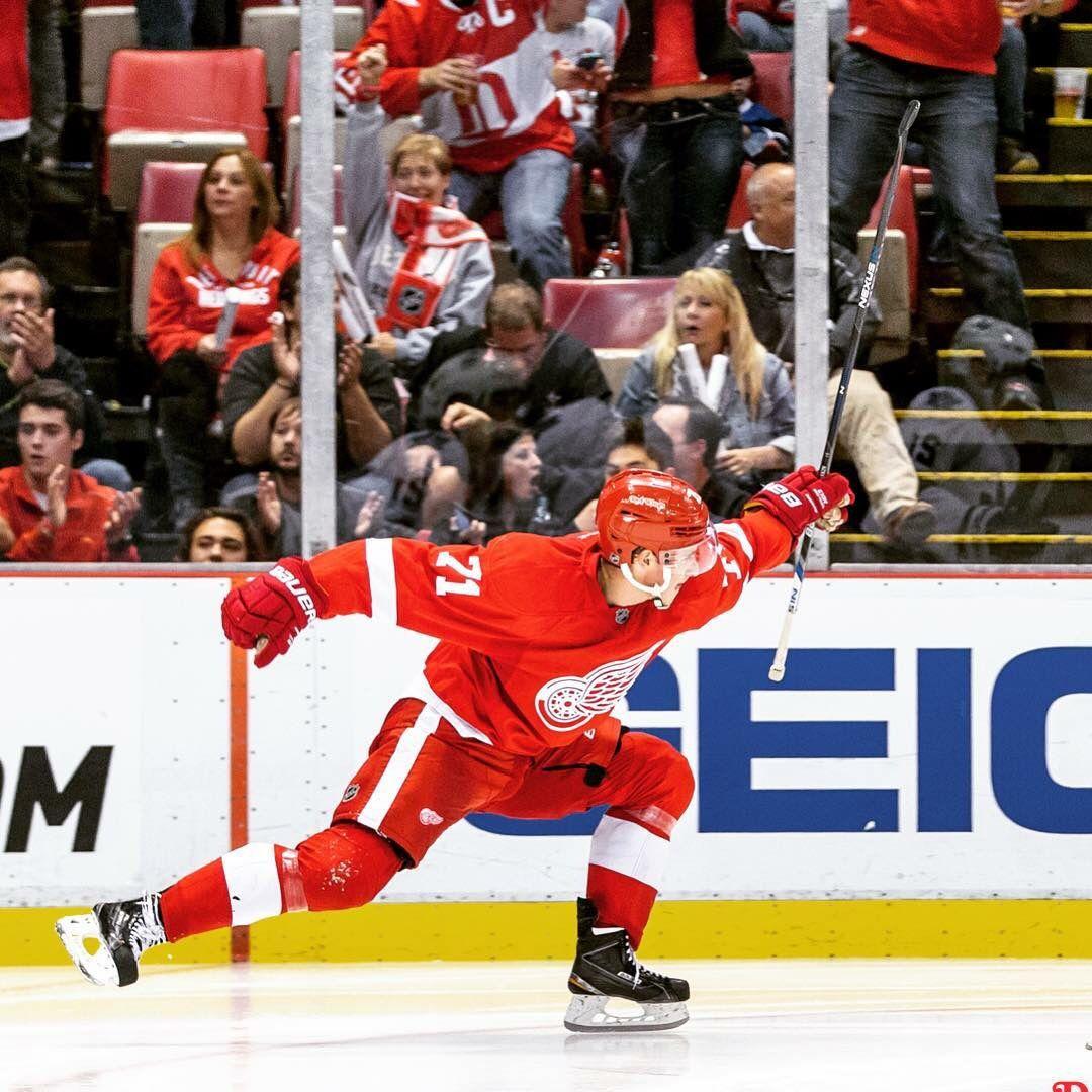 Pin by Sport Lover on Larkin ️ Red wings hockey, Detroit