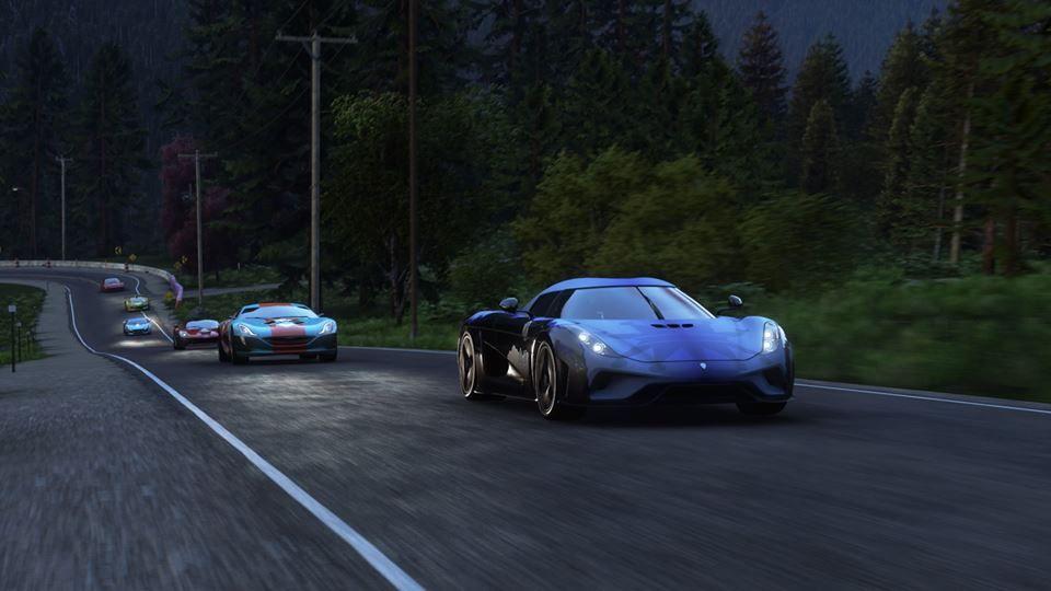 cars hyper sport gaming ps4 good shots