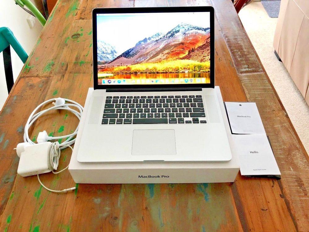 Macbook Pro 15 inch 2 3Ghz Quad-core Intel Core i7 (Retina