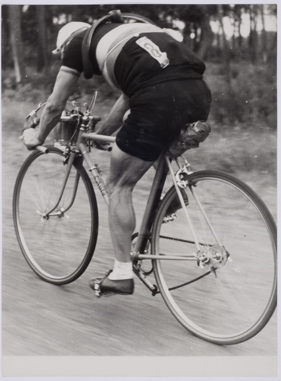 Romain Maes Shot By Robert Capa During 1939 Tour De France No