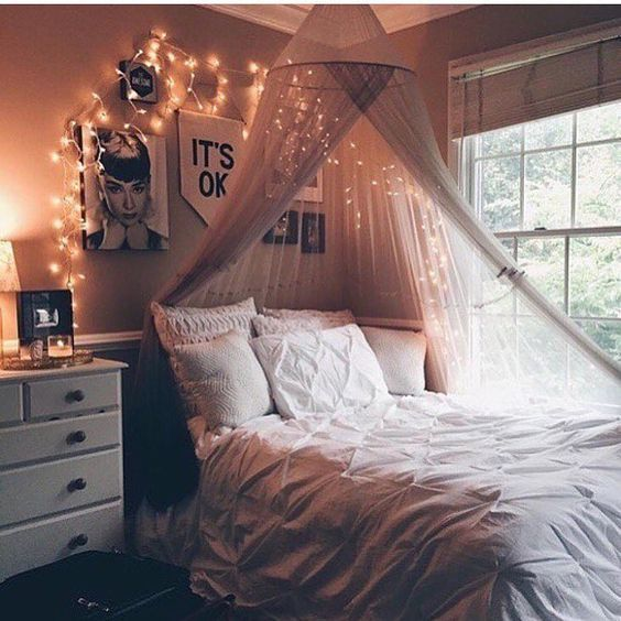 Photo of Fairy Lights | Bedroom Inspiration | Cozy Decor | CozyDecorShop.com