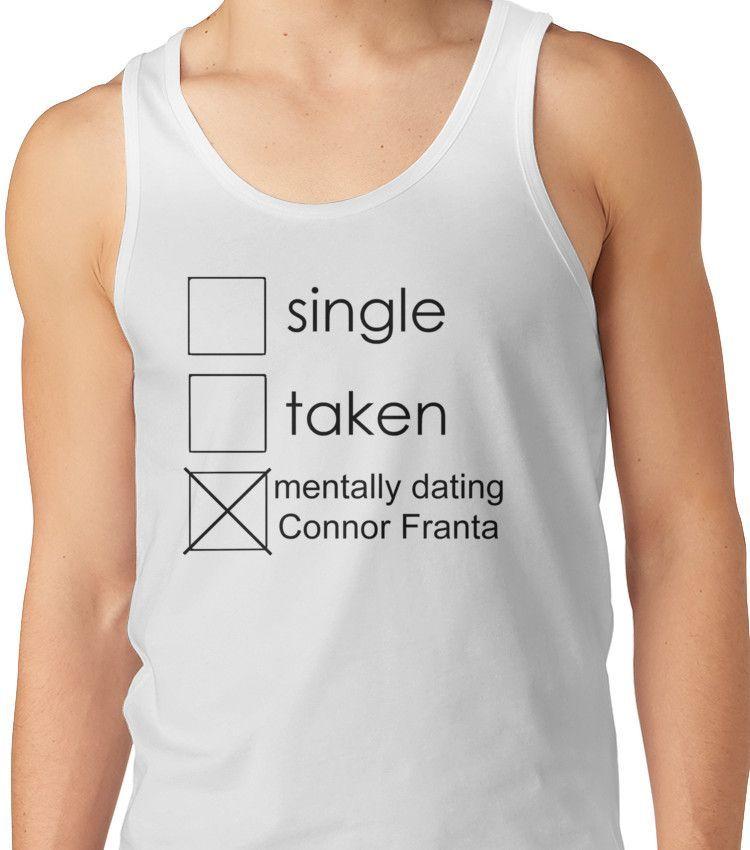 single Connor Unisex Tank Top