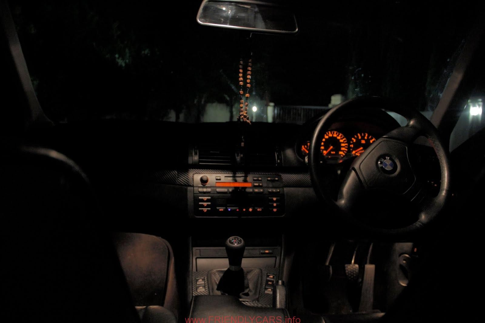 Awesome bmw e46 interior night car images hd bmw e46 silver wolf project