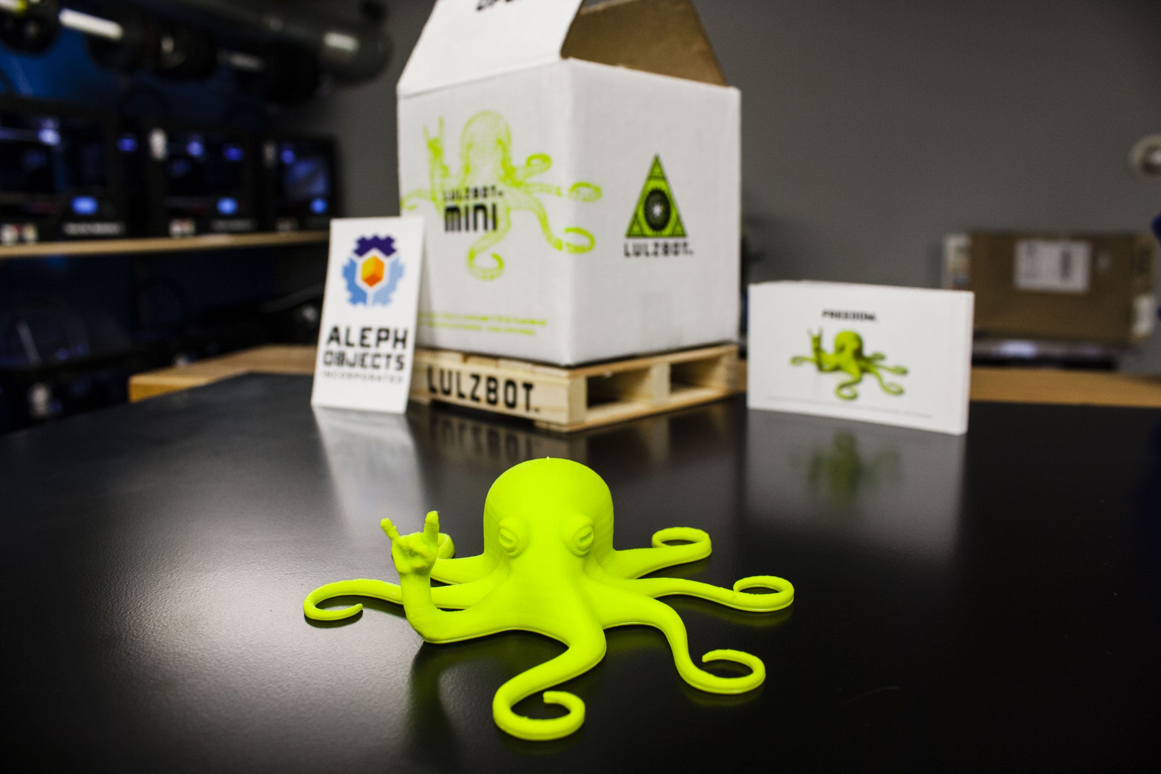 3D printed Rocktopus from LulzBot