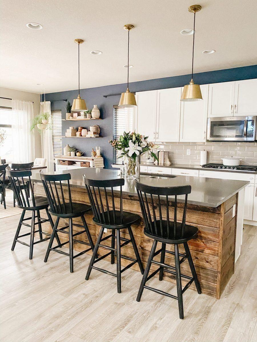 kitchen island shiplap sprucing up mamahood 1000 in 2020 shiplap kitchen stools for on farmhouse kitchen navy island id=66859