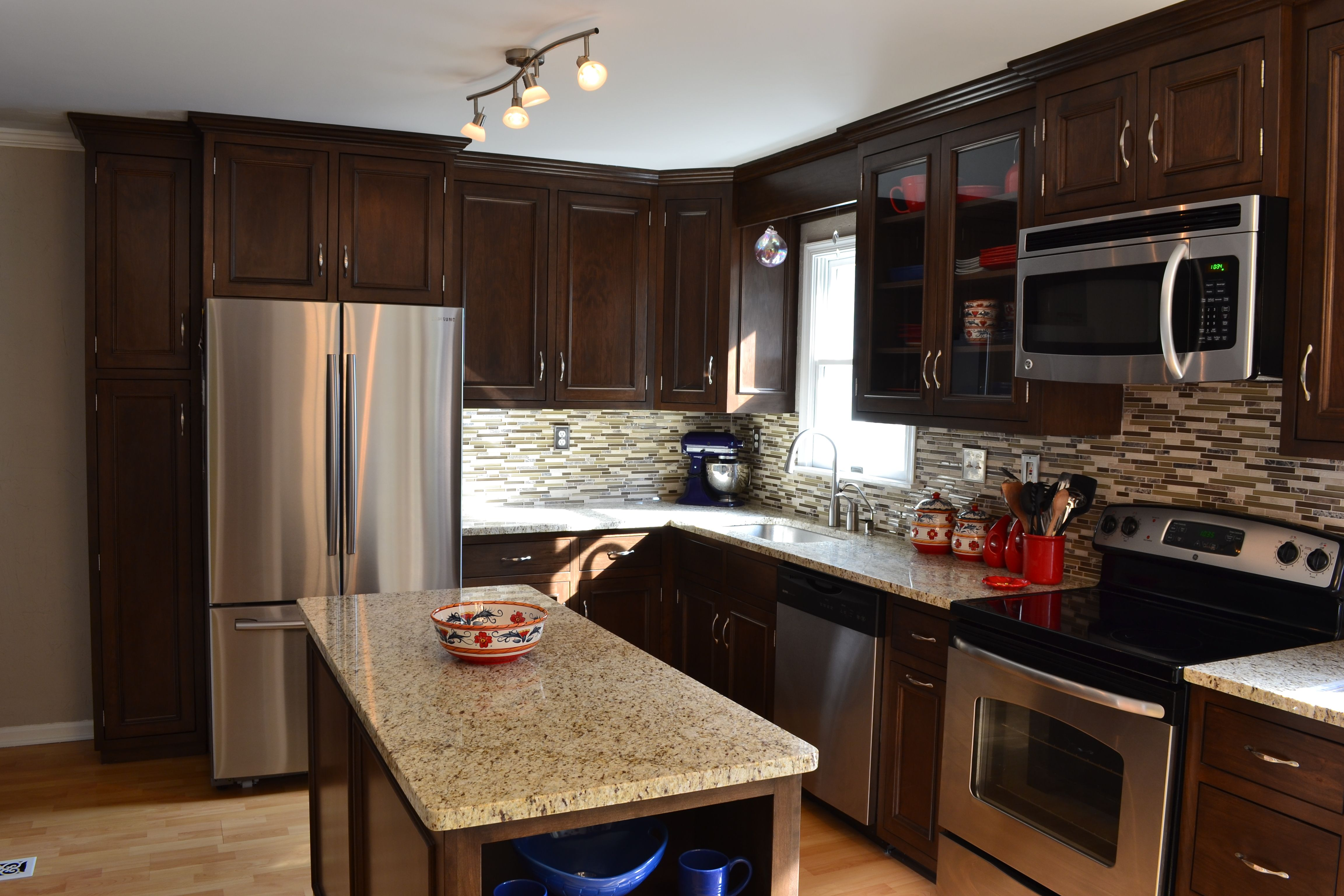 Custom Cabinets In Frederick Md Full Kitchen Remodel Kitchen Remodel Custom Cabinets