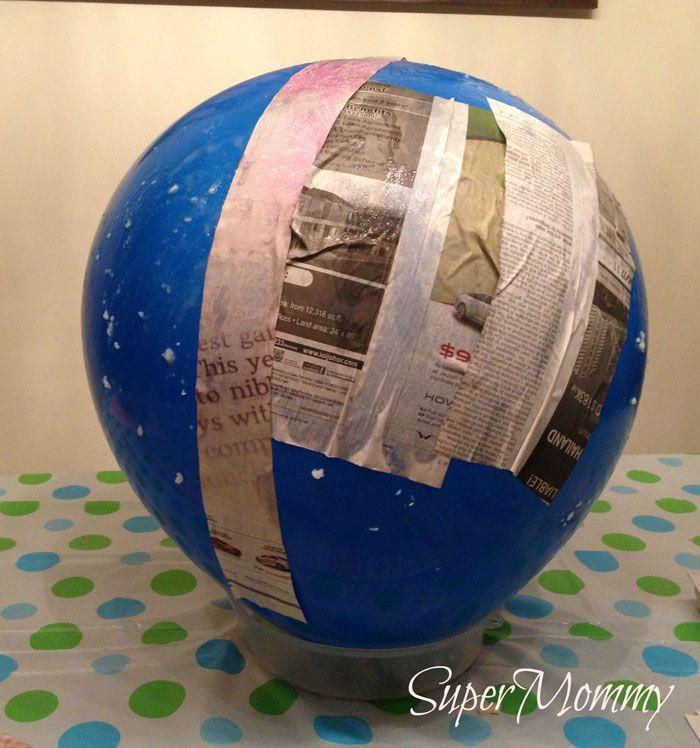 pinata basteln kindergeburtstag feiern geschnek für die kinder pappmaschee ballon