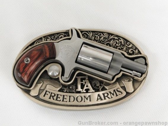 Freedom Arms 22 Mini Pistol Belt Buckle Revolver for sale at