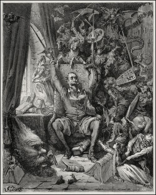 darkasagrave:  Gustave Doré Don Quijote de la Mancha Miguel de Cervantes