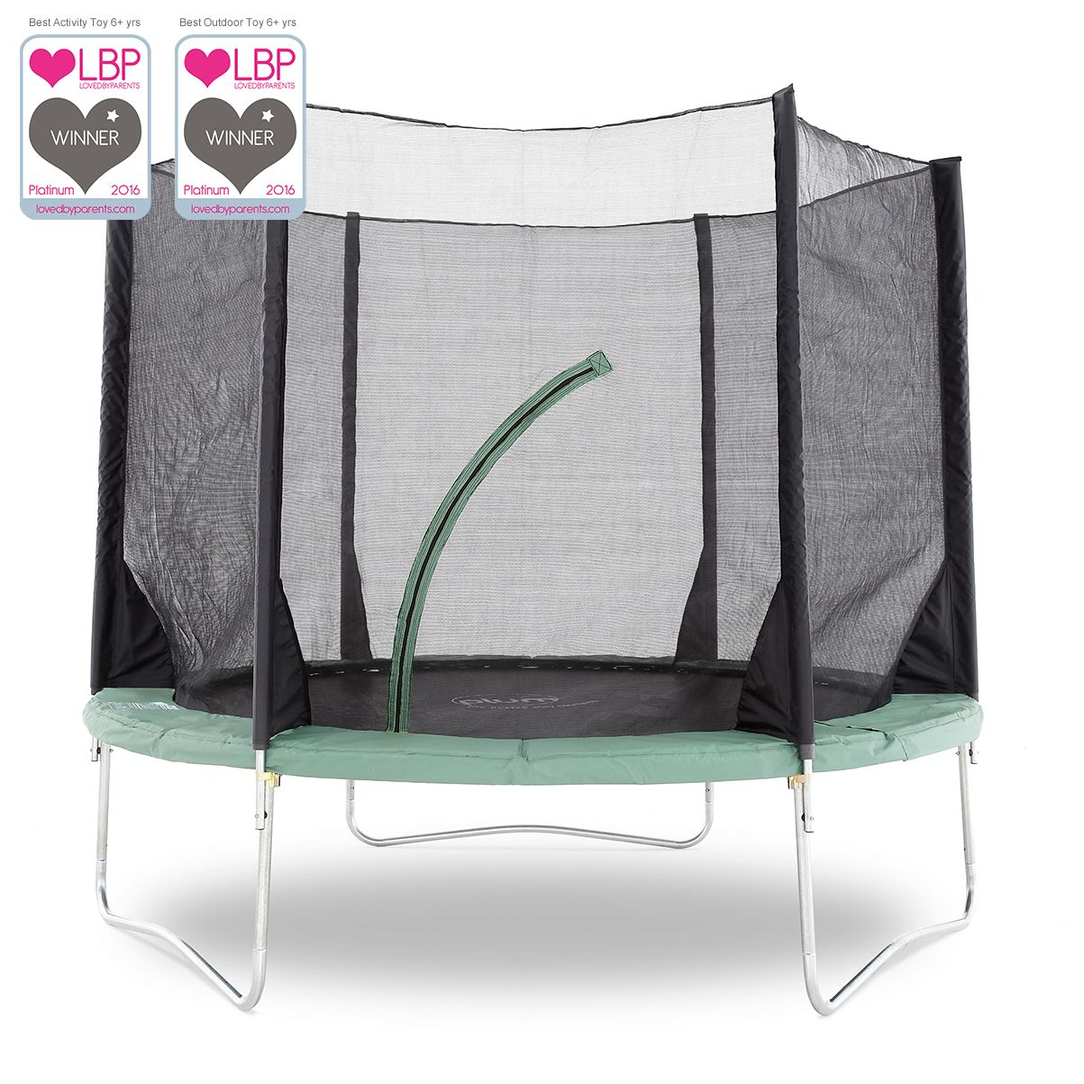 Plum Space Zone V3 10ft Trampoline Enclosure The Plum 10ft Space