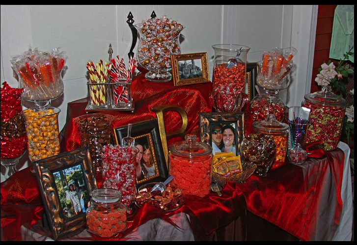 Fall Wedding Candy Buffet Ideas: It Is All In The Details Candy