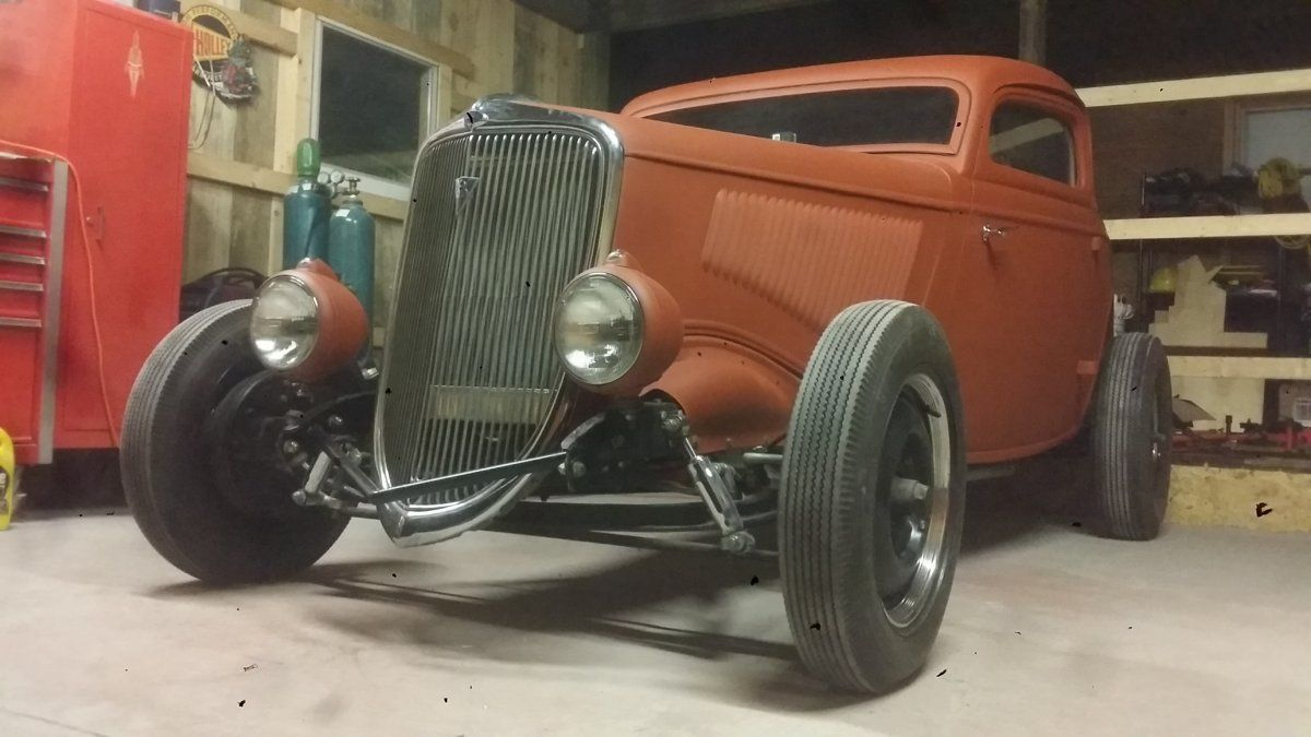 1934 Ford 3 Window Coupe For Sale 1934 Ford 3 Window Coupe The H A M B Vintage Hot Rod Ford Hot Rod Hot Rods